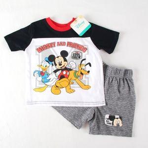 Disney Baby Boy 18 mo Mickey & Friends Short Set